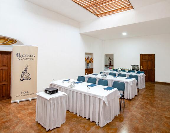Sala Parador Hacienda Cocoyoc