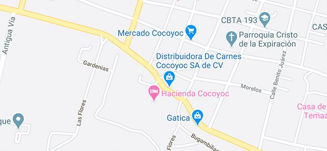 Hacienda Cocoyoc-ubicación